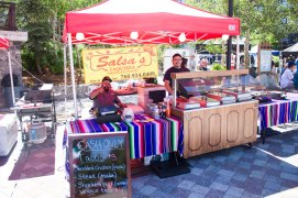 Salsas Taqueria Vending at The Village Summer Jam 3 years in a row!