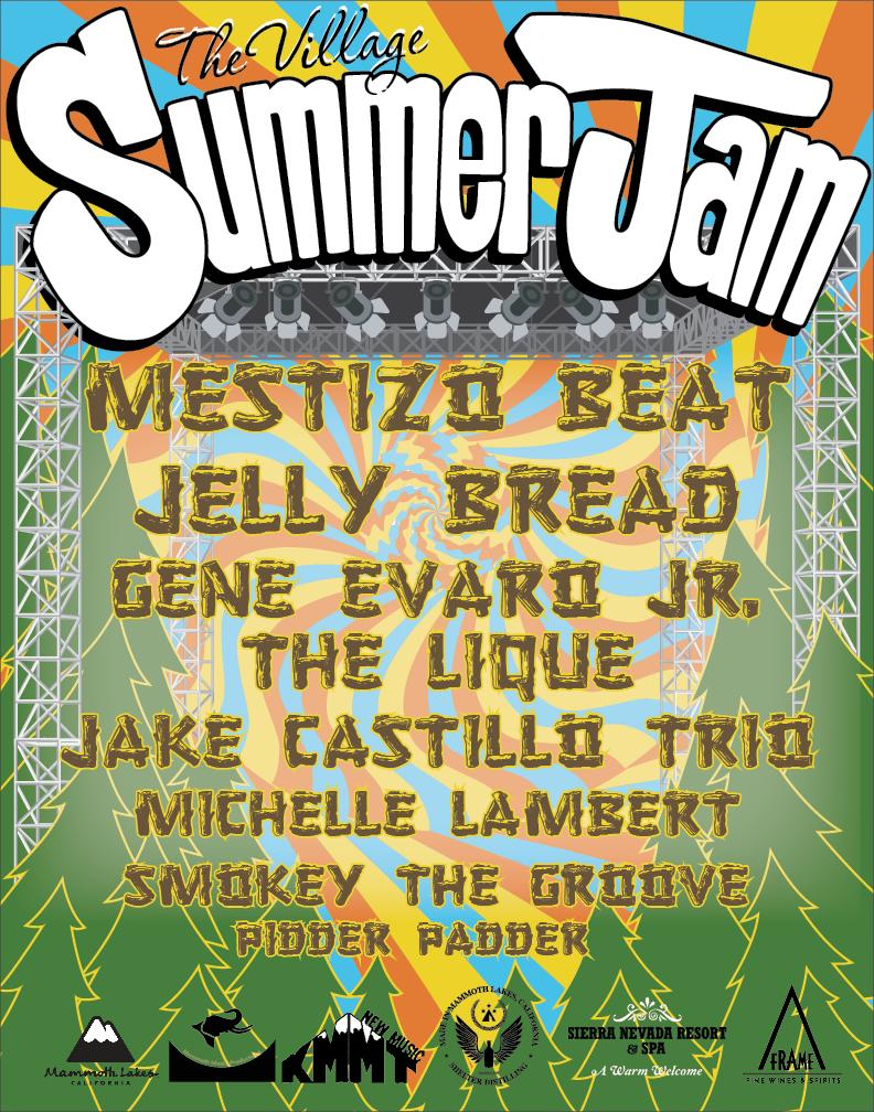 Village Summer Jam 2019 Official Poster